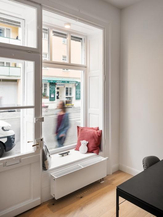 SmallbutSelect Schaufenster Sitzecke